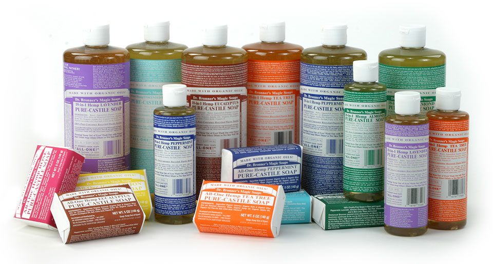 Dr. Bronner's Magical soaps
